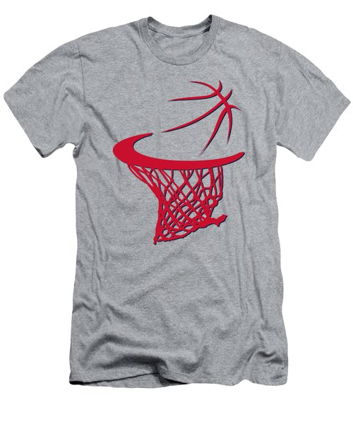 Wizards Basketball Hoop Men's T-Shirt (Slim Fit) by Joe Hamilton