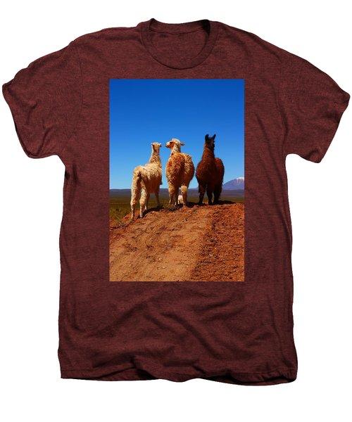 3 Amigos Men's Premium T-Shirt by FireFlux Studios