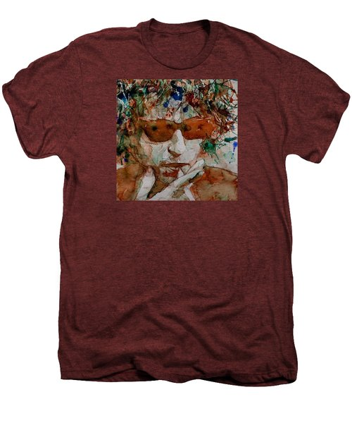 Just Like A Woman Men's Premium T-Shirt by Paul Lovering