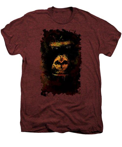 Mighty Gorilla Men's Premium T-Shirt by Jaroslaw Blaminsky