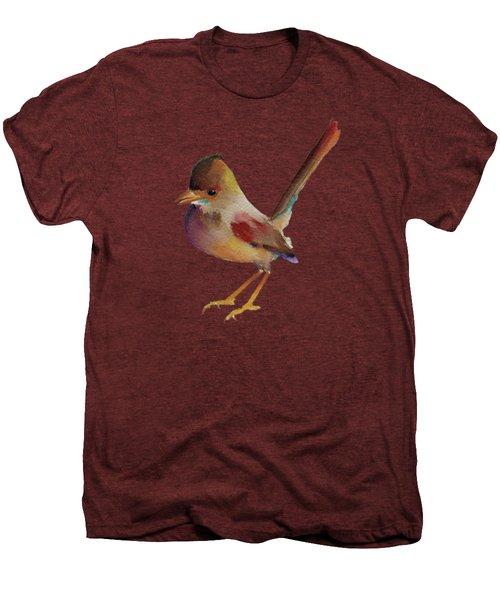 Wren Men's Premium T-Shirt by Francisco Ventura Jr