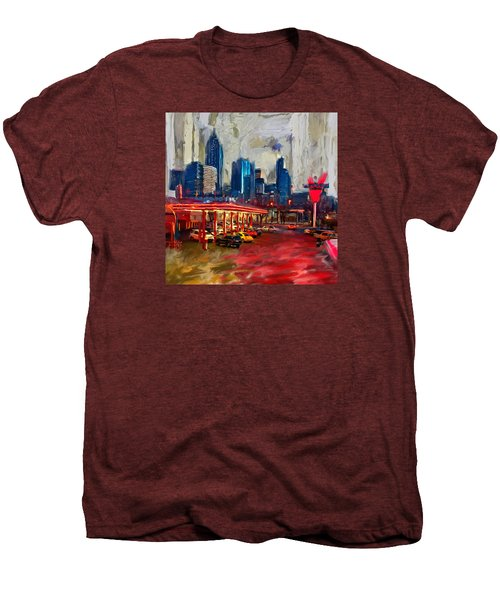Atlanta Skyline 231 1 Men's Premium T-Shirt by Mawra Tahreem