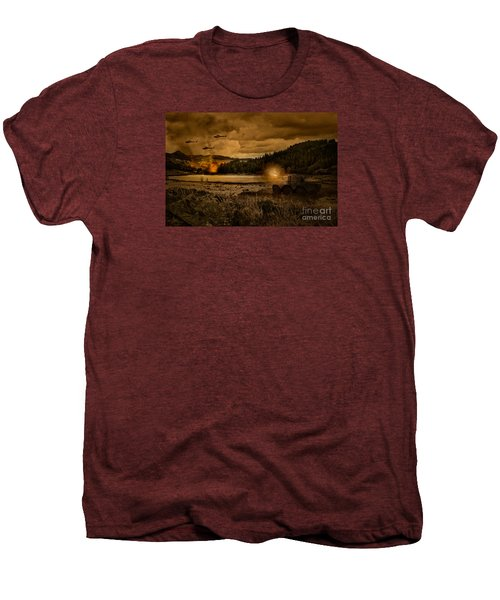 Attack At Nightfall Men's Premium T-Shirt by Amanda Elwell