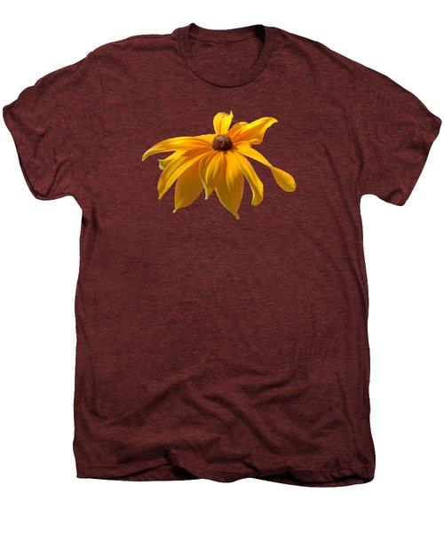 Daisy - Flower - Transparent Men's Premium T-Shirt by Nikolyn McDonald