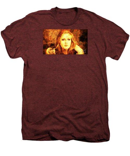 Golden Adele Men's Premium T-Shirt by Pablo Franchi