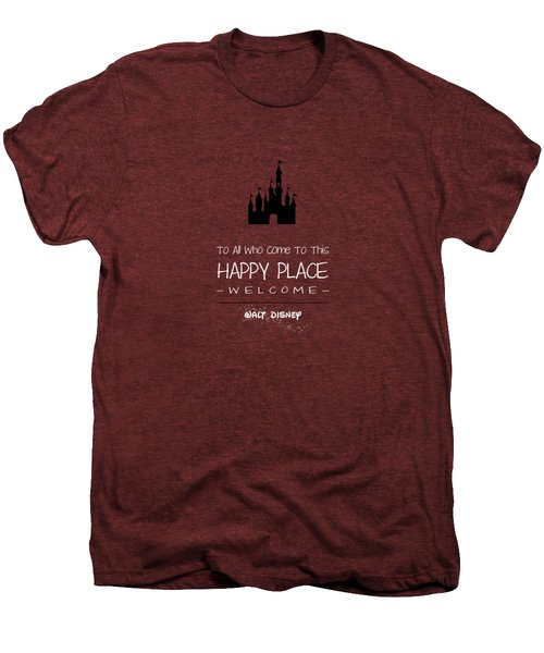 Happy Place Men's Premium T-Shirt by Nancy Ingersoll