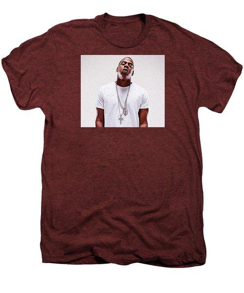 Jay-z Men's Premium T-Shirt by Iguanna Espinosa