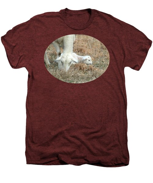L Is For Lamb Men's Premium T-Shirt by Anita Faye