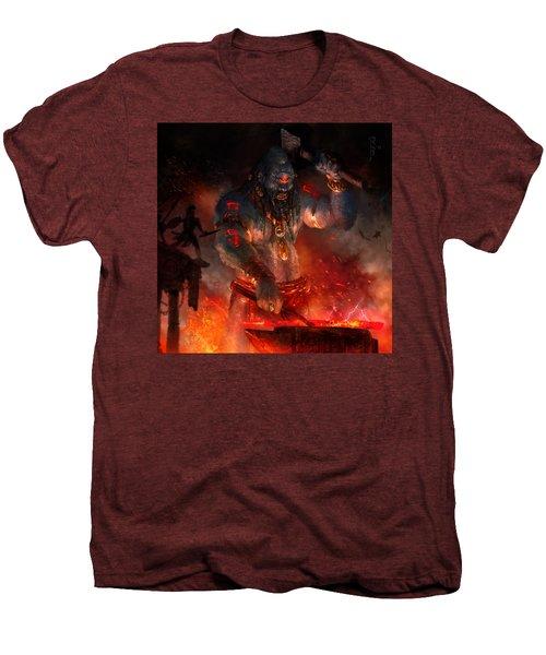 Maker Of The World Men's Premium T-Shirt by Ryan Barger