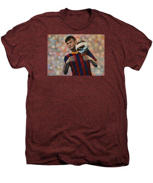 Neymar Men's Premium T-Shirt by Paul Meijering