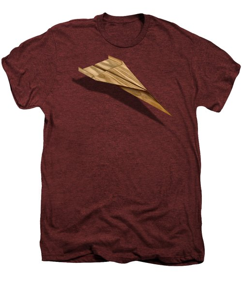 Paper Airplanes Of Wood 3 Men's Premium T-Shirt by YoPedro