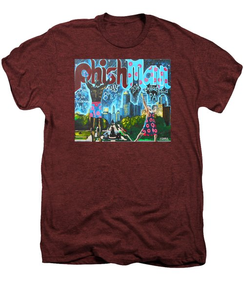 Phishmann Men's Premium T-Shirt by Kevin J Cooper Artwork