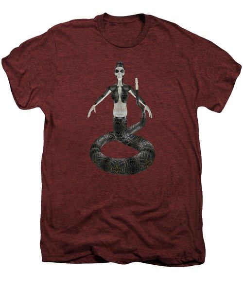Rattlesnake Alien World Men's Premium T-Shirt by EnDora TwinkLens