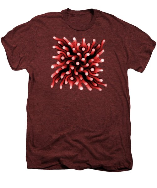 Red Sea Anemone Men's Premium T-Shirt by Anastasiya Malakhova
