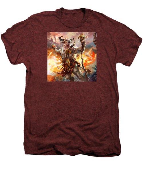 Spiritcaller Shaman Men's Premium T-Shirt by Ryan Barger