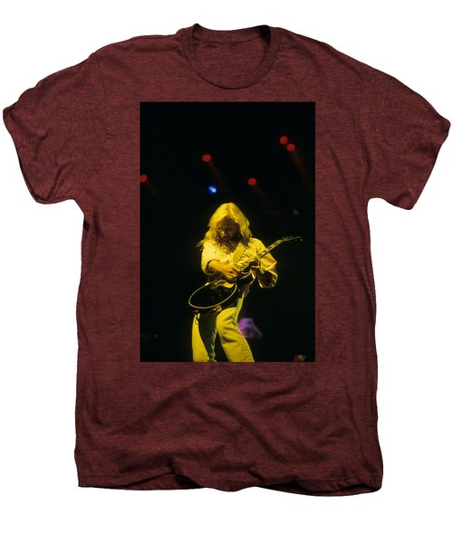 Steve Clark Men's Premium T-Shirt by Rich Fuscia