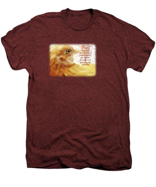 Vanity Fair - Verse Men's Premium T-Shirt by Anita Faye
