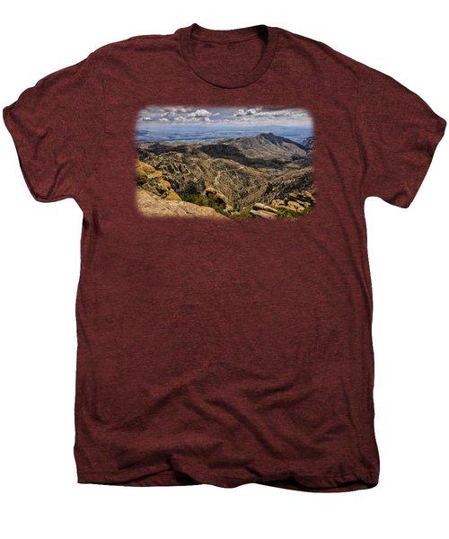 Windy Point No.1 Men's Premium T-Shirt by Mark Myhaver