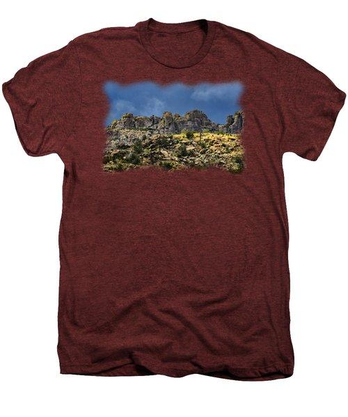 Windy Point No.7 Men's Premium T-Shirt by Mark Myhaver