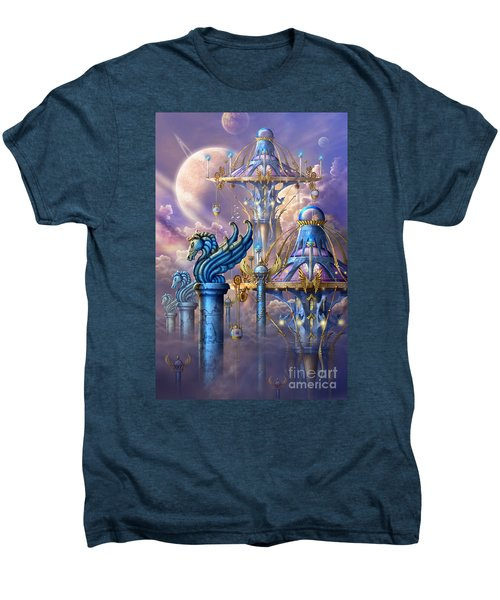 City Of Swords Men's Premium T-Shirt by Ciro Marchetti