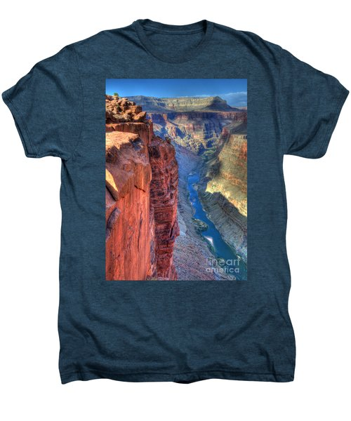 Grand Canyon Awe Inspiring Men's Premium T-Shirt by Bob Christopher