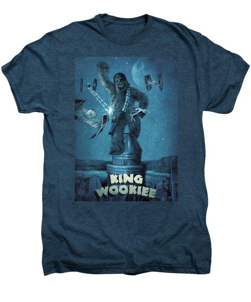 King Wookiee Men's Premium T-Shirt by Eric Fan