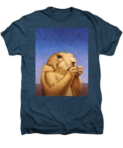 Prairie Dog Men's Premium T-Shirt by James W Johnson