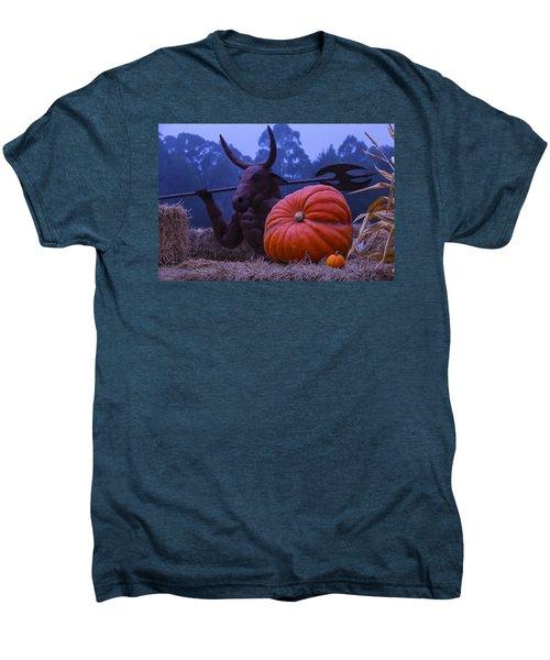 Pumpkin And Minotaur Men's Premium T-Shirt by Garry Gay