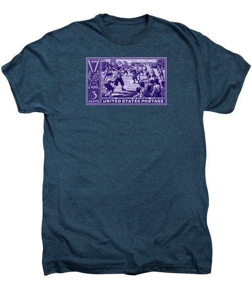 1939 Baseball Centennial Men's Premium T-Shirt by Historic Image