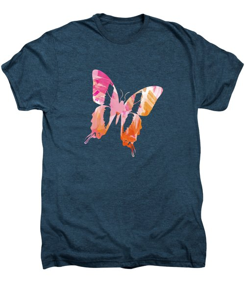 Abstract Paint Pattern Men's Premium T-Shirt by Christina Rollo