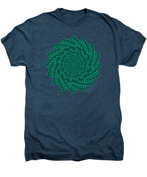 Alligator-dragon Tail Men's Premium T-Shirt by Heather Schaefer