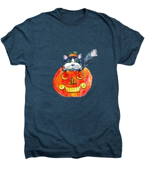 Boo Men's Premium T-Shirt by Shelley Wallace Ylst
