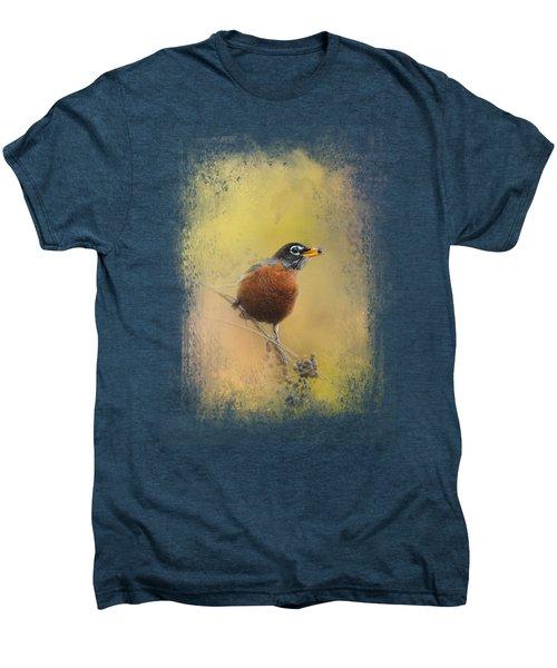 Berries In The Woods Men's Premium T-Shirt by Jai Johnson
