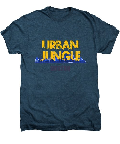 Boston Urban Jungle Shirt Men's Premium T-Shirt by Joe Hamilton