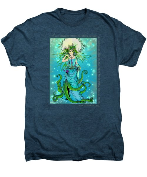 Cephalopod Princess Men's Premium T-Shirt by Katherine Nutt