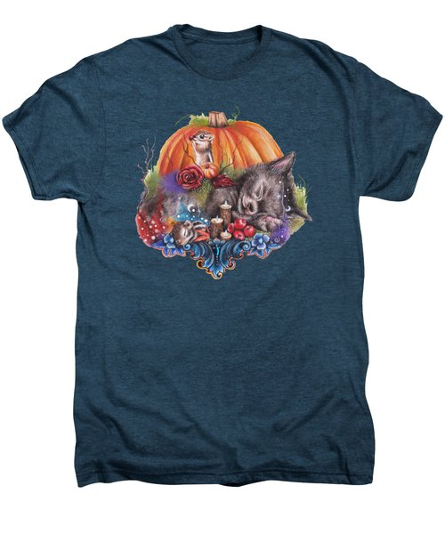 Dreaming Of Autumn Men's Premium T-Shirt by Sheena Pike