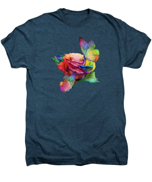 Healing Rose Men's Premium T-Shirt by Carol Cavalaris