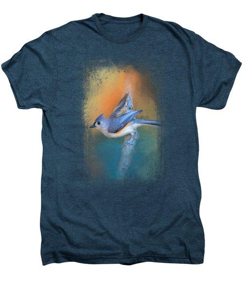 In A Flash Men's Premium T-Shirt by Jai Johnson