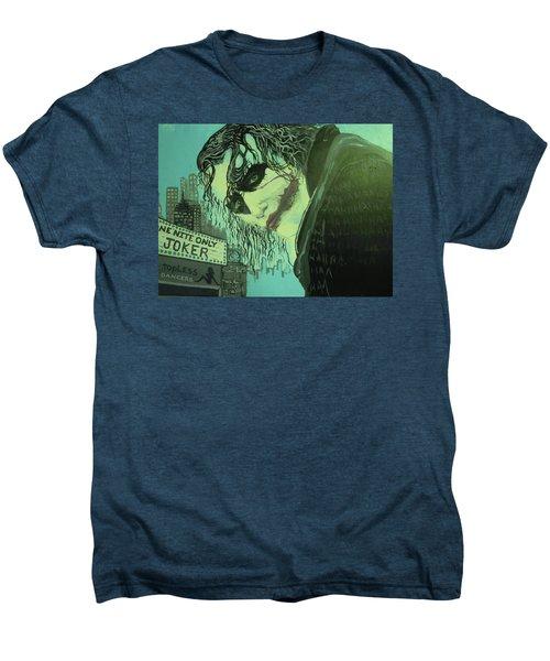 Joker Men's Premium T-Shirt by Scott Murphy