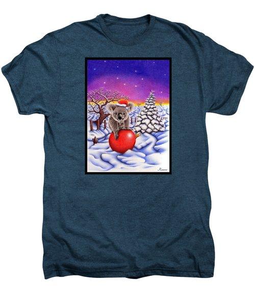 Koala On Ball Men's Premium T-Shirt by Remrov