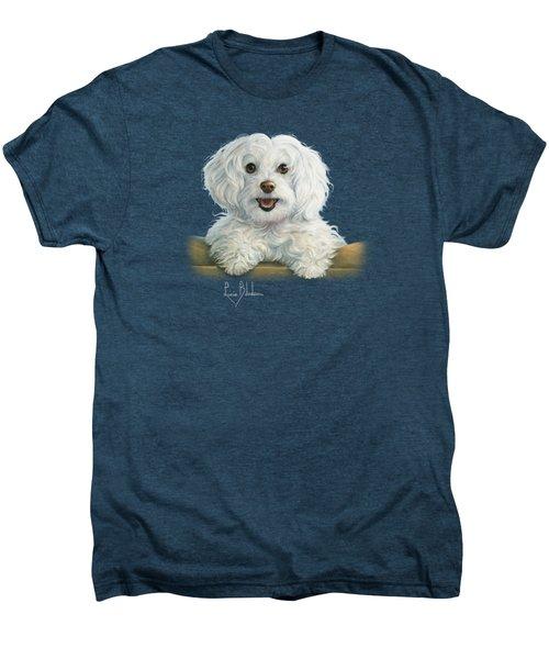 Mimi Men's Premium T-Shirt by Lucie Bilodeau
