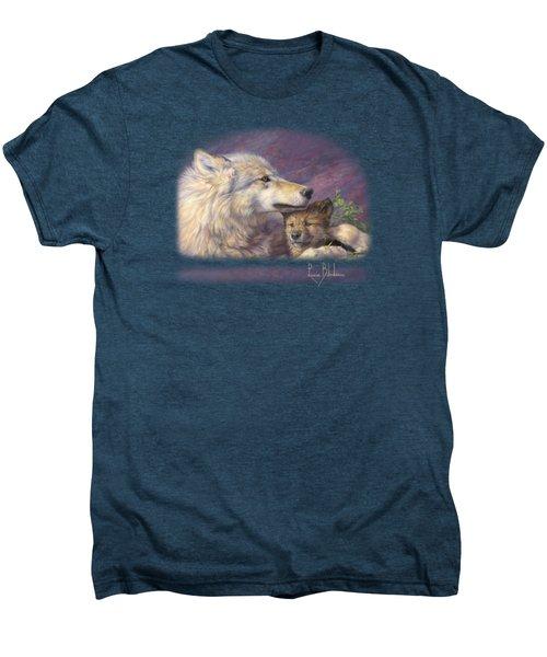 Mother's Love Men's Premium T-Shirt by Lucie Bilodeau