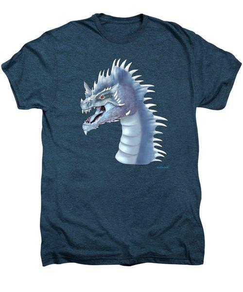 Mystical Ice Dragon Men's Premium T-Shirt by Glenn Holbrook