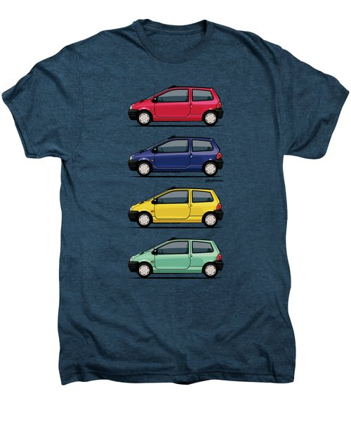 Renault Twingo 90s Colors Quartet Men's Premium T-Shirt by Monkey Crisis On Mars
