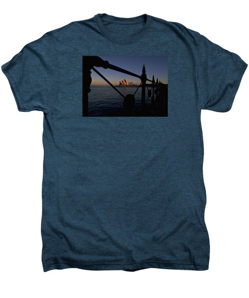 Men's Premium T-Shirt featuring the photograph Sydney Opera House by Travel Pics