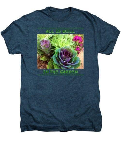 The Healing Garden Men's Premium T-Shirt by Korrine Holt