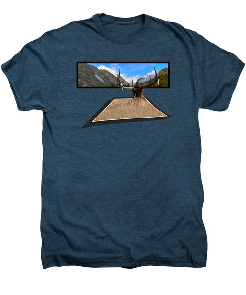 The View Men's Premium T-Shirt by Shane Bechler