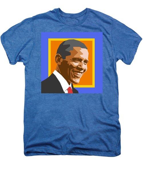 Barack Men's Premium T-Shirt by Douglas Simonson
