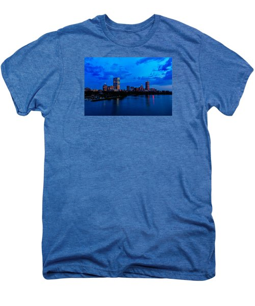 Boston Evening Men's Premium T-Shirt by Rick Berk