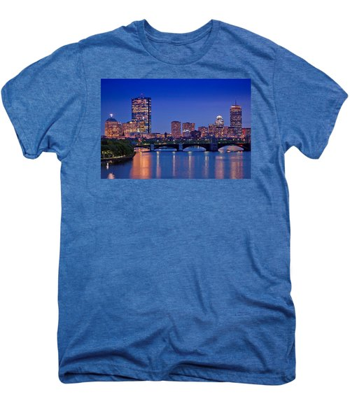 Boston Nights 2 Men's Premium T-Shirt by Joann Vitali